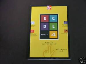 AAVV* EDCL MODULO 4 FOGLIO ELETTRONICO SYLLABUS 4.0 - MCGRAW HILL
