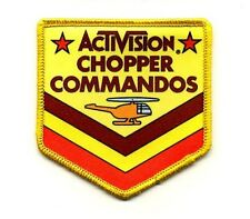 Activision Chopper Commandos Patch - FREE SHIPPING to US addresses
