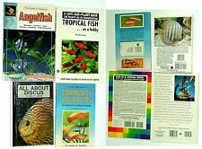 Lot Of 4 Tropical Fish Books, LikeNew Condition