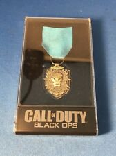 Official Call Of Duty Black Ops Medal w/Case Prestige Edition Exclusive 1E Mint