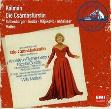 Willy Mattes - Kalman: Die Csardasfurstin (The Gypsy Princess) [New CD] Portugal