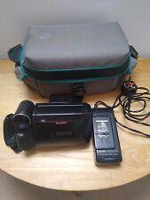 Vintage Sharp Viewcam 8 VL-E30 cámara de vídeo de cristal líquido