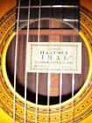 1979 Japanese Handmade Hakusui Imai Classical Guitar w/ BrandNew HardCase Mint!! for sale