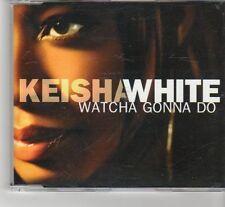 (FR625) Keisha White, Watcha Gonna Do - 2003 DJ CD
