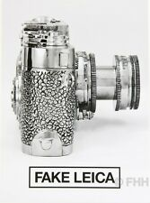 GUP FAKE LEICA SPECIAL LIMITED EDITION OF GUP MAGAZINE AND LIAO YIBAI