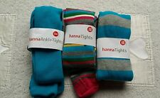 NWT HANNA ANDERSSON TIGHS LOT 130 140 FOOTED ANKLE BLUE