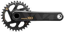 SRAM XX1 Eagle Boost MTB GXP 1x 12 Speed Carbon Crankset 32t x 170mm Black/Gold