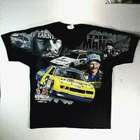 Dale Earnhardt Jr Sr 2010 Double Sided Nascar T-shirt Chase Authentics Size 2XL