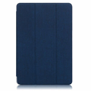 For Samsung Galaxy Tab S6 Lite Folio Canvas Leather Smart Case Cover Pencil Hold