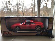 NIB Maisto Special Edition Red Ferrari 348TS 1:18