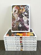 OVERLORD Manga English Paperback Volumes 1-8 - Yenpress