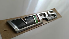 Original Skoda VW VRS Schriftzug Emblem Heckklappe RS Neues Modell 5E0853687F