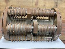 Edco 8 In Scarifier Drum Assembly Cpm8 6pt Carbide Cutters Original Edco Oem