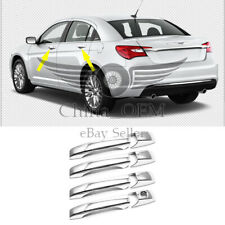 For 2011-2014 Chrysler 200 W/O SMART KEY Door Handle Covers