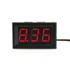 LCD Digital DC 4-30V Red LED Display Voltmeter Panel Voltage Meter 2 Wires