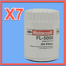 7 Genuine FORD Engine Oil Filter Motorcraft FL-500S Replace OEM# AA5Z6714A