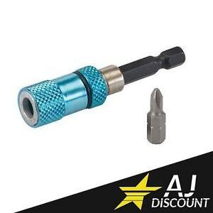 Porte embout magnétique Placo / Cloison sèche avec butée de profondeur + Embout