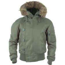 Cappotti e giacche da uomo bomber , harrington pelliccia cerniera