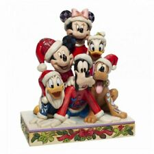Disney Traditions by Jim Shore Christmas Mickey And Friends  6007063 Topolino