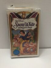 Walt Disney's Snow White and the Seven Dwarfs (VHS) Factory Sealed