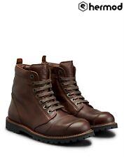 Belstaff Resolve Short Waterproof Ankle Motorcycle Boots - Brown