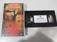 Il Cacciatore Robert de Niro MICHAEL Cimino VHS Nastro Castellano