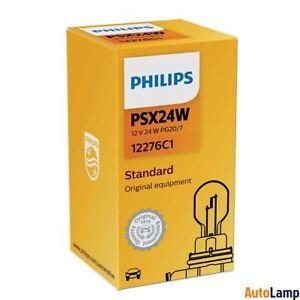 1x PSX24W Standard lamp Car HALOGEN Indicator 12V 24W PG20/7 PHILIPS 12276C1