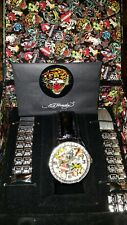 ED HARDY by Christian Audigier LIMITED EDITION WATCH #1192 out of 1830 made-Rare