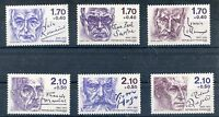 STAMP / TIMBRE FRANCE NEUF SERIE N° 2355/2360 ** CELEBRITE