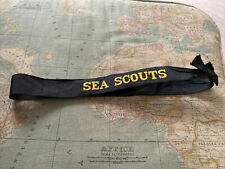 Old Sea Scout / Royal naval uniform Official Issue Hat  cap tally