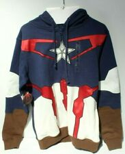 Captain Marvel Hoodie Sweatshirt Size S Small Avengers Sweater New with Defects