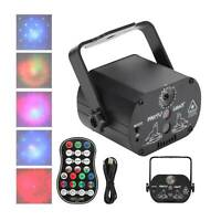 60 Patterns RGB LED Disco Light RGB Laser Projection Lamp Stage Lighting Show