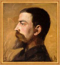 Valdemar Schonheyder Moller Anna Ancher Norwegen Mann Bart Porträt B A2 00529