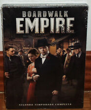 BOARDWALK EMPIRE 2ª SEASON COMPLETE 5 DVD NEW SEALED SERIES (UNOPENED)