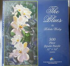 NEW / SEALED: The Blues by Roberta Wesley 500 Piece Jigsaw Puzzle #51062