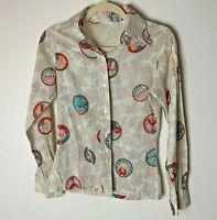 Porter House by Regina Porter Women's Top Size 5 6 Shirt Cotton Long Sleeves