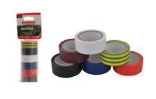 UniBond Électrique Isolation Bande 19mm X 3.5m - Paquet De 6 Couleurs