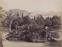 Italia Genova Villa Pallavicini Vintage Albumina Ca 1880