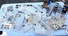 Huge Lot of 44 Vintage Airplane Model Manuals Revell Aurora Lindberg Upc Other