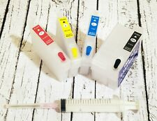 Empty Refillable Ink Cartridges For Epson WF-7210 WF-7710 WF-7720 T252XL 252XL