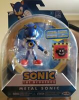 "Sonic The Hedgehog METAL SONIC with Trap Spring 4"" Sonic Articulation Figure NIB"