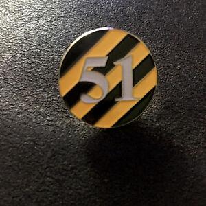 Fac51 Pin Badge Factory Records, Factory Club Hacienda, Joy Division, Manchester