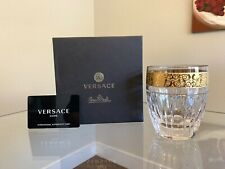 Versace Rosenthal Gala Prestige Whiskey Double Old Fashioned Glass