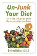 Un-Junk Your Diet: How to Shop, Cook, and Eat to Fight Inflammation-ExLibrary