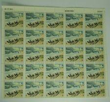 1972 National Parks Centennial 2 Cent 4 Stamp Block - Stamp Sheet of 100 - Mint
