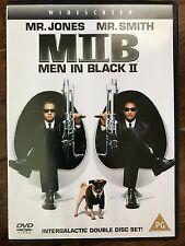 Will Smith Tommy Lee Jones MEN IN BLACK II ~ 2002 Sci-Fi Comedy  | 2-Disc UK DVD