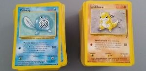 Pokemon lot 493 cards BASE / JUNGLE / FOSSIL / +++ MINT COLLECTOR OWNED NEW VTG.