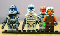 Custom Captain rex Lego Star Wars clone Arc Trooper Mini Figure