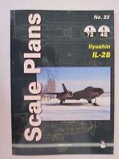 Scale Plans No. 22 Ilyushin Il-28 by Mushroom Model Publications