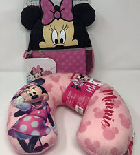 New Disney Minnie Mouse Harness Toddler Backpack & Minnie Mouse Travel Pillow